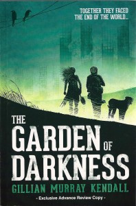 The cover of Gillian Murray Kendall's upcoming novel *The Garden of Darkness*